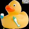 Pato de goma cepillado dientes 2