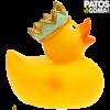 pato de goma rey 2