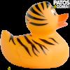 pato de goma tigre 2