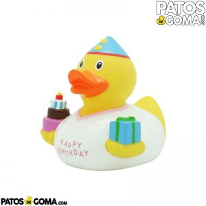 Pato de goma HAPPY BIRTHDAY