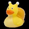 pato de goma caracol 2