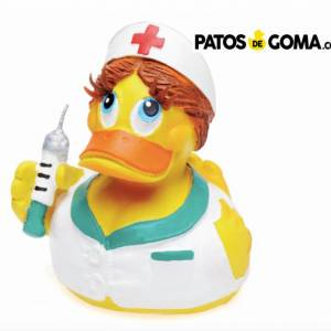 pato de goma enfermera
