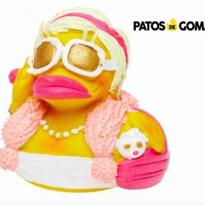 patito de goma fashion
