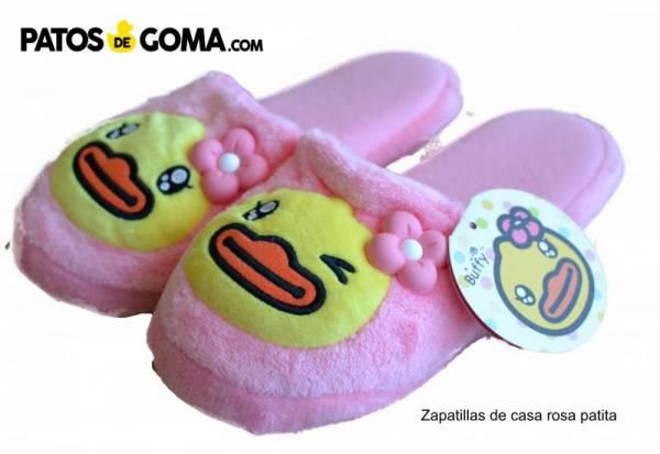 zapatillas rosa patita