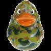 pato de goma militar