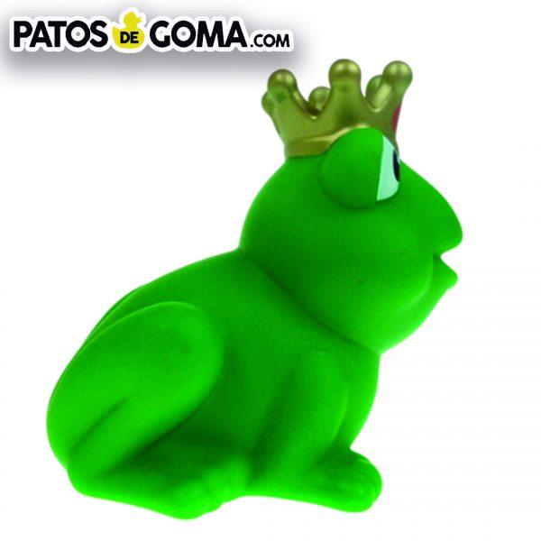 pato de goma rana rey